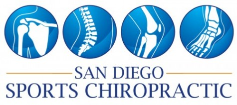 San Diego Sports Chiropractic logo design & Illustration