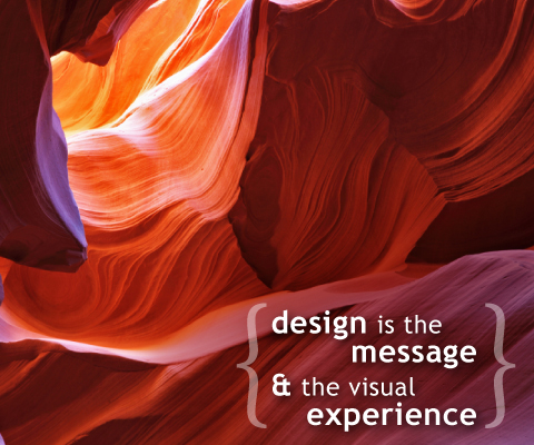 Design is the message
